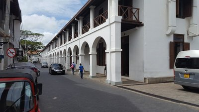Galle, the old Dutch Hospital, now gem stores and restaurants