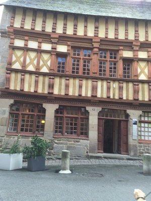 Treguier's old buildings