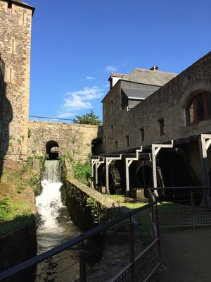 Fourerges 4 wheel Watermill from Medieval times.. recently restored