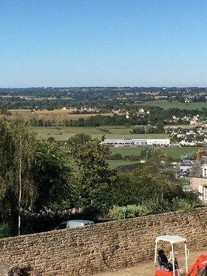 View from Aire at Avranches