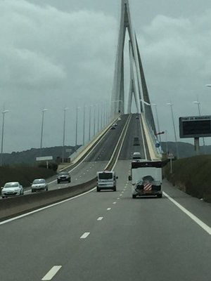 Bridge on the way Very steep!!!!