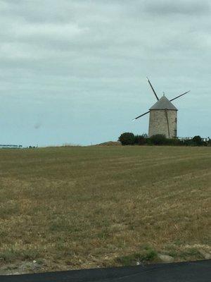 Windmill on the way to Dinard