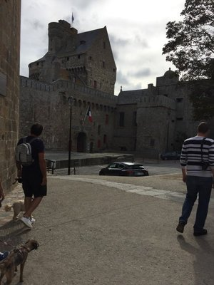 Some of the walls in St Malo