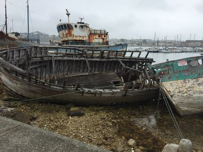 Fishing fleet no more again