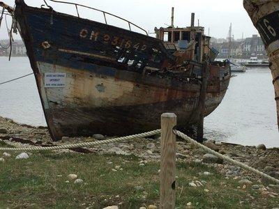 Fishing fleet no long in Cabaret Sur Mer.