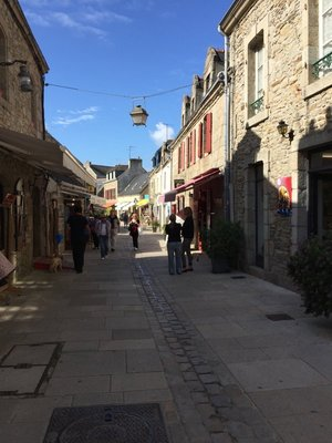 Old Streets in Concarnea