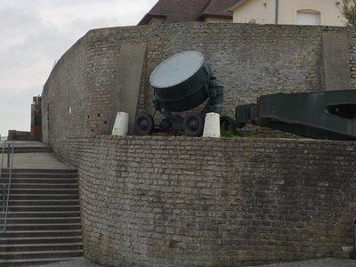 German anti aircraft search light