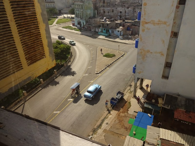 View from Casa Particulares in Habana Centro