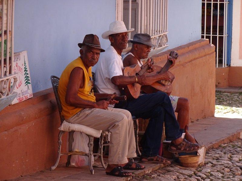 Impromptu Music Trio in Trinidad