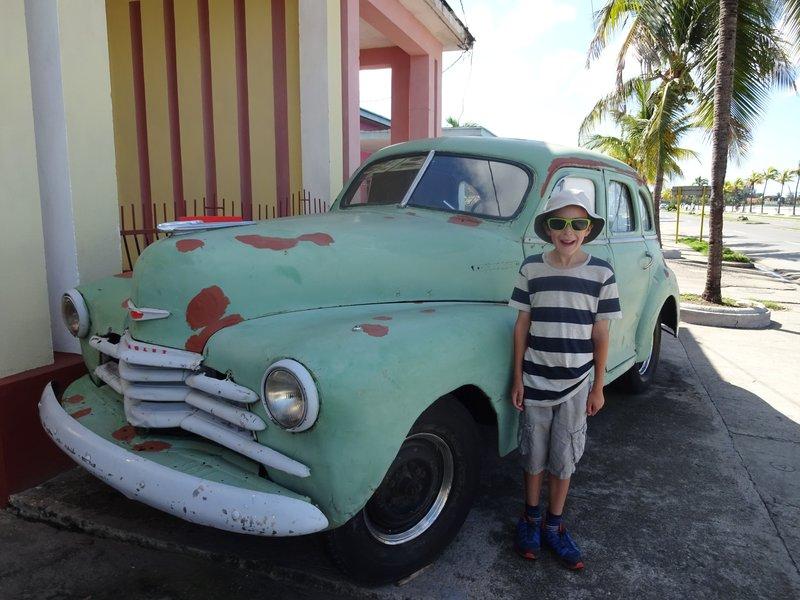 1950s Car - Cienfuegos