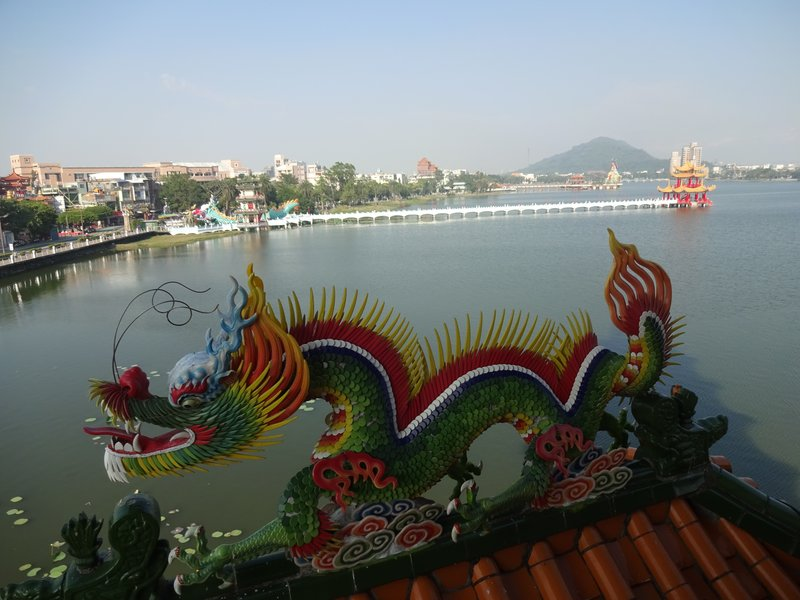 View from Dragon Tiger Pavilion, Lotus Lake