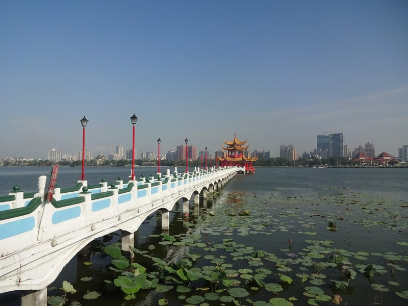 Wuli Pavilion, Lotus Lake