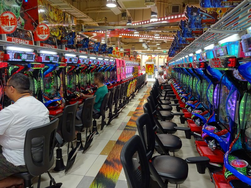 Pachinko, a national gambling obsession