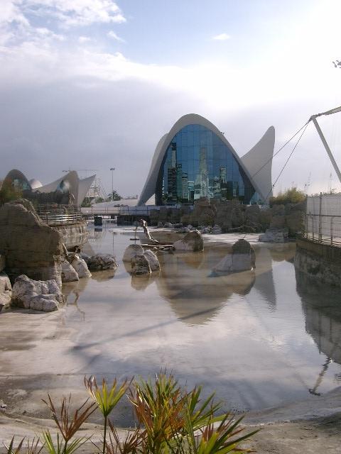 L'Oceanogràfic in Valencia