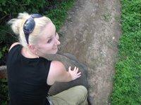 me on the elephant