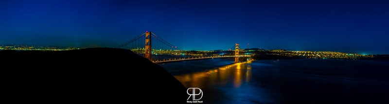 The city of San Francisco by Night