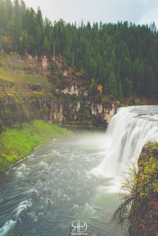 Upper Mesa Falls.