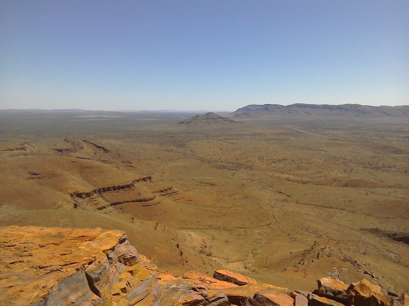 View from Mount Bruce