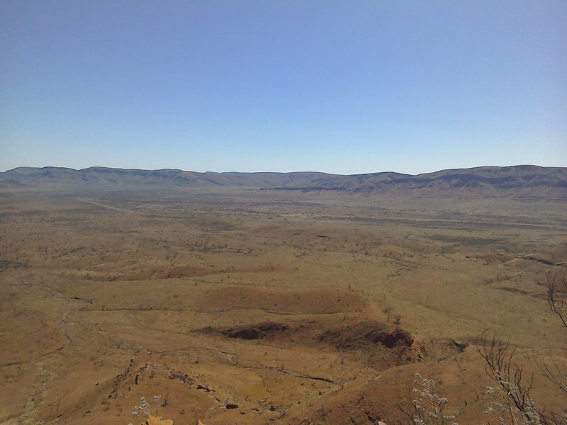 View from Mount Bruce 2