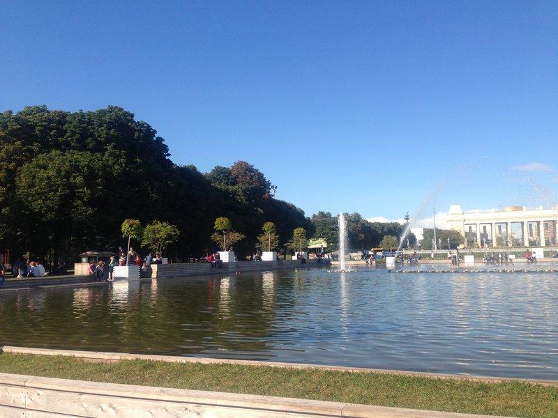 Gorky Central Park, Moscow