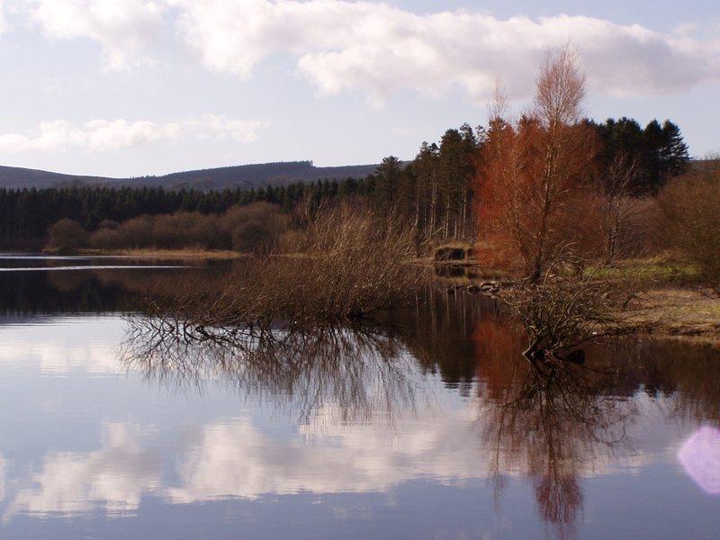 Blensington lake, wicklow mountains