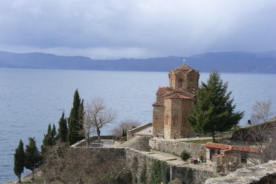 Monastery at Lake Ohrid