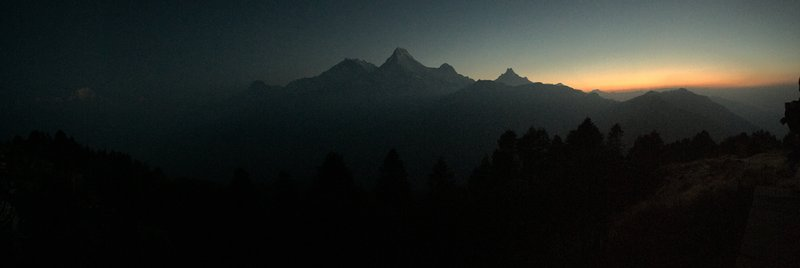 Dawn at Poon Hill