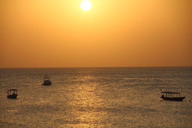 Sundown on Zanzibar