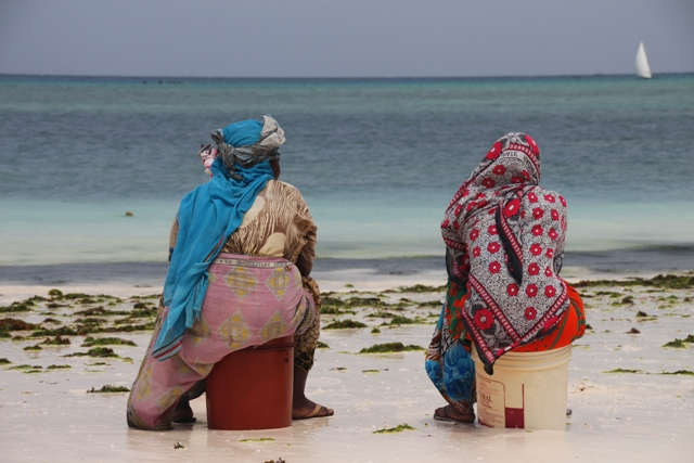 Break at the beach
