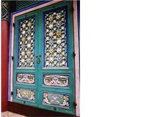 Temple Door ,very ornate .