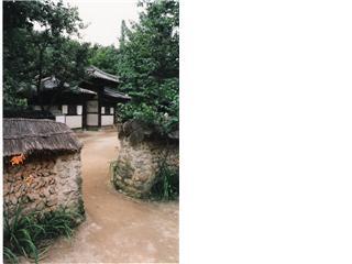 Restored heritage Village