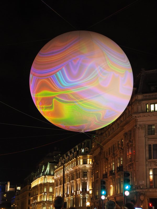 Planets over Oxford Circus 1