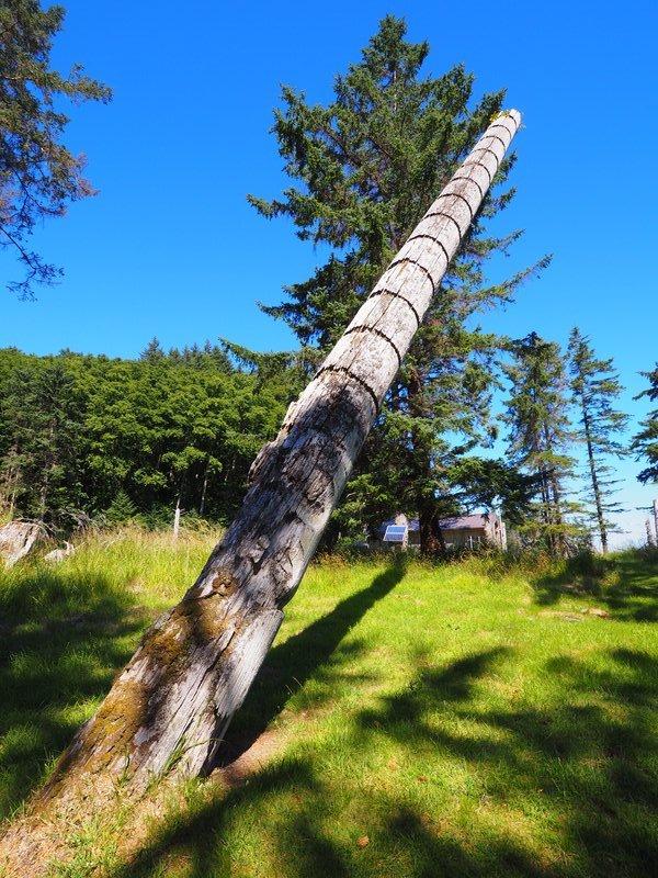 Commemorative Totem post, Skedans