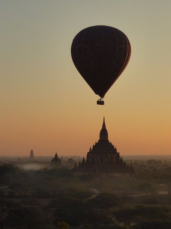 A Balloon over Bagan