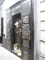 Evita Peron's final resting place