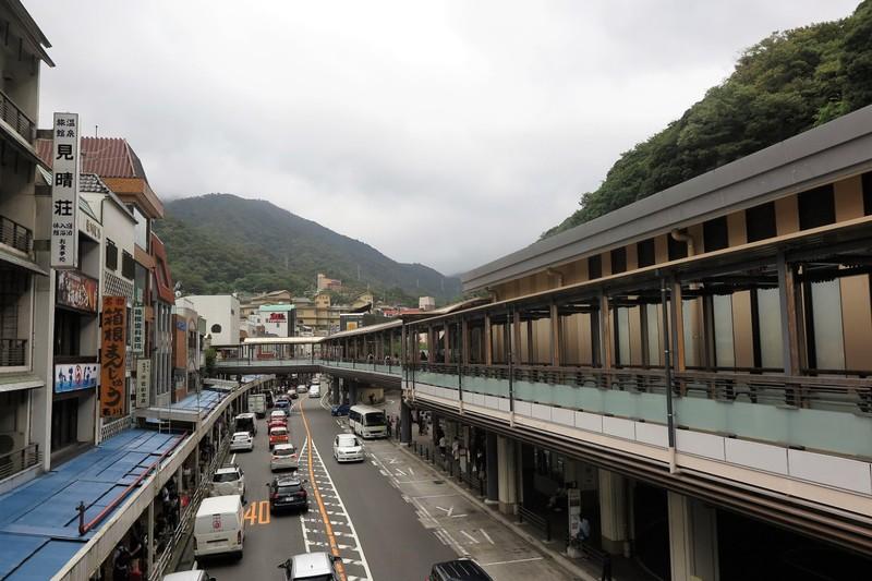 Back at Hakone-Yumoto Station