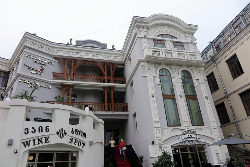Upmarket Hotel and Wine Shop