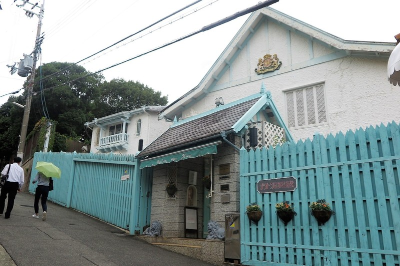 Italian House in Kitano, now an arts museum