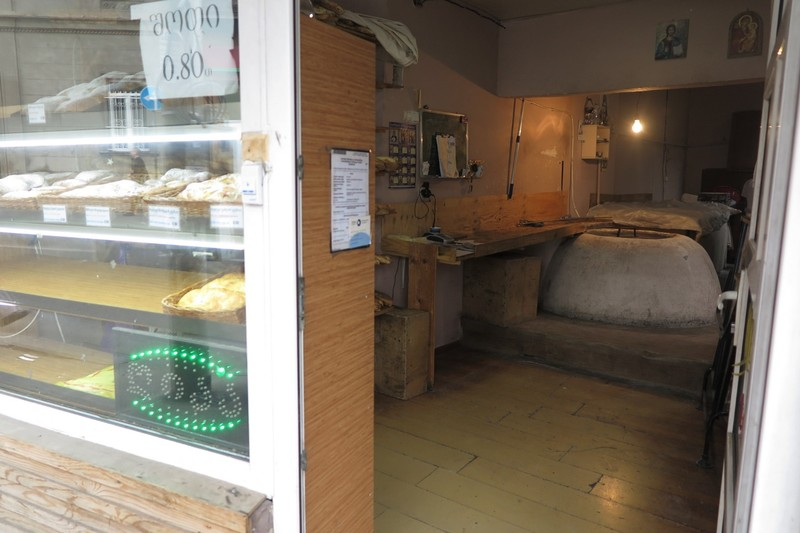 One of the small bakeries that are so common