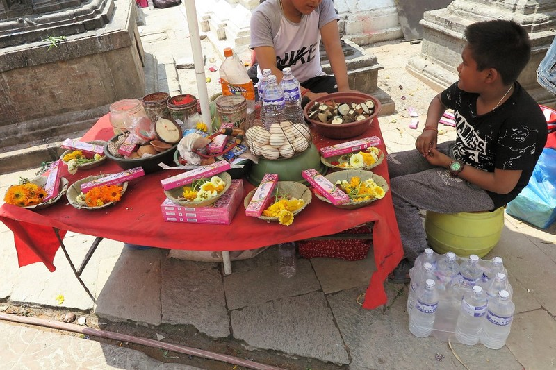 Selling items for offerings