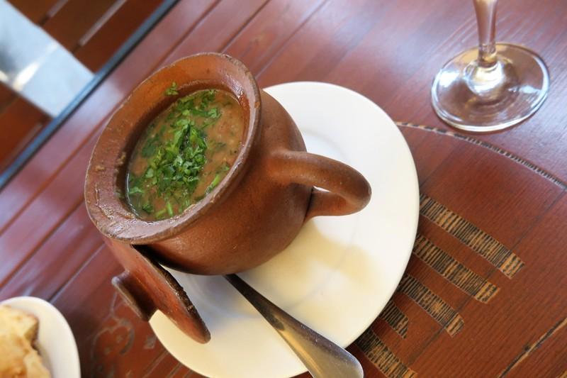 Bean clay pot dish