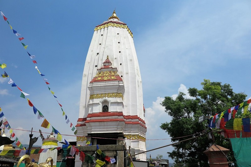 Anantapura Temple, which has been rebuilt after earthquake