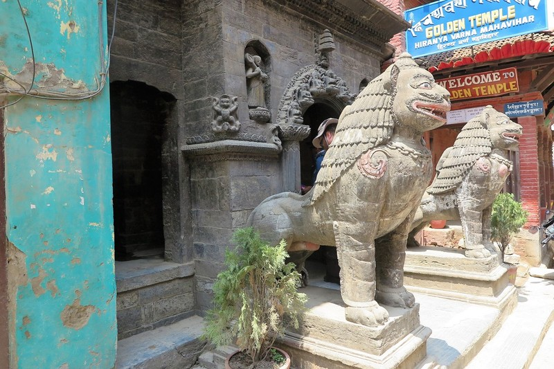 Guarding Kwa Baha, the Golden Temple