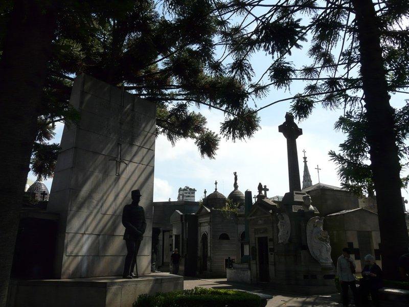 Het kerkhof van Recoleta