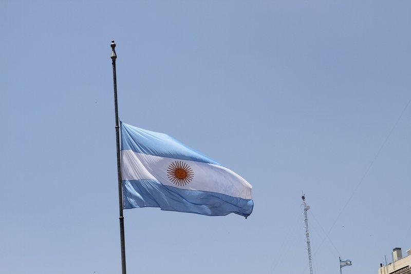 De Argentijnse vlag