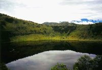 Queen Elizabeth National Park, crater