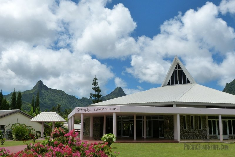 Church in Rarotonga, Cook Islands
