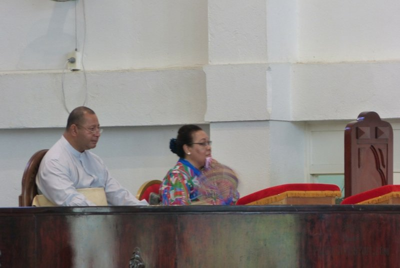 king and queen of tonga