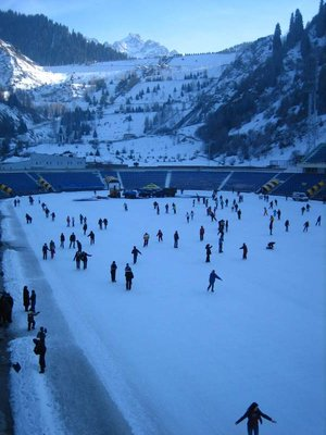 Ice rink, Almaty