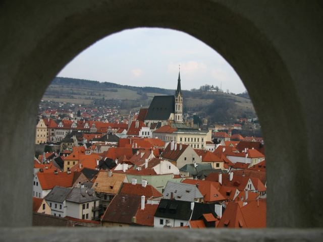 Chesky Krumlov View from Castle